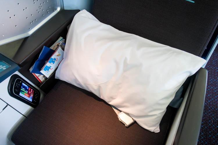 KLM Business Class Pillow