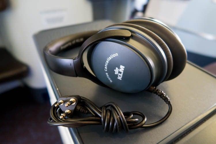 KLM Business Class Headset