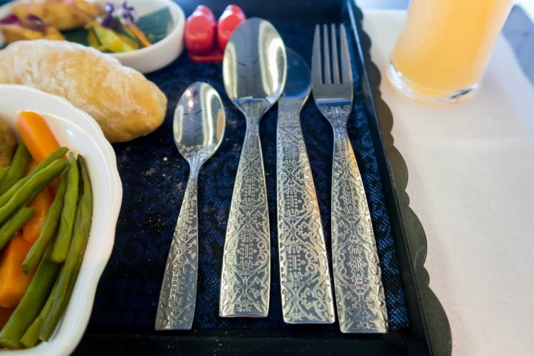 KLM Business Class Cutlery