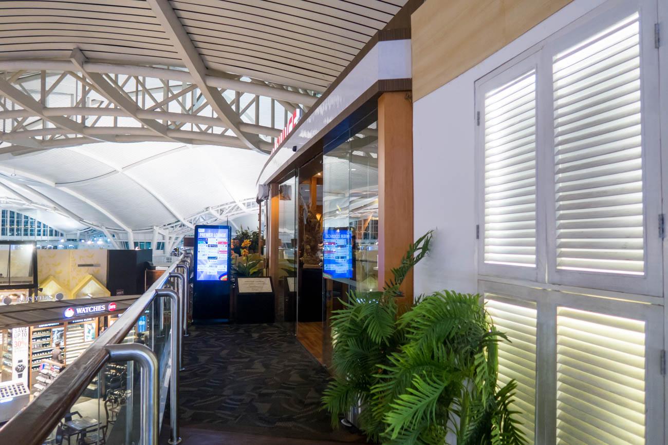 Premier Lounge Bali Entrance