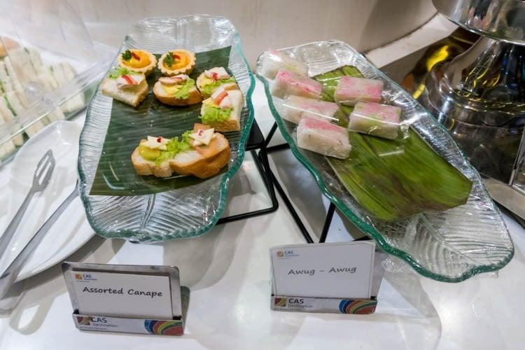 Premier Lounge Bali Canapes