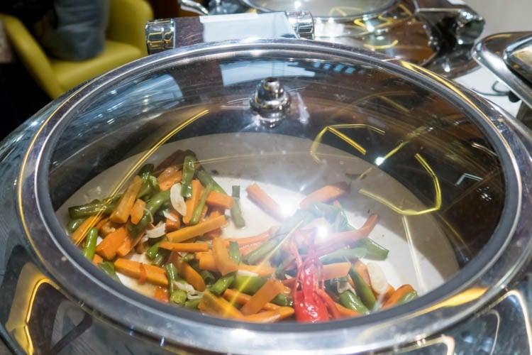 Premier Lounge Bali Vegetables