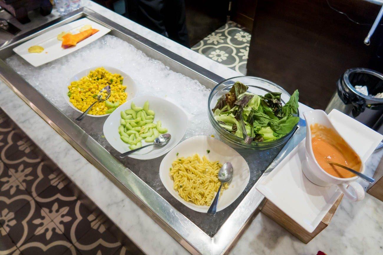 T/G Lounge Denpasar Bali Salad