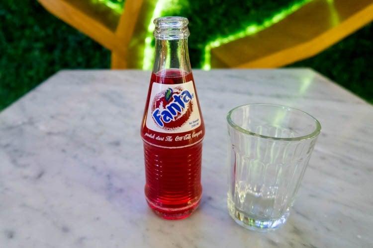 T/G Lounge Denpasar Bali Soft Drinks