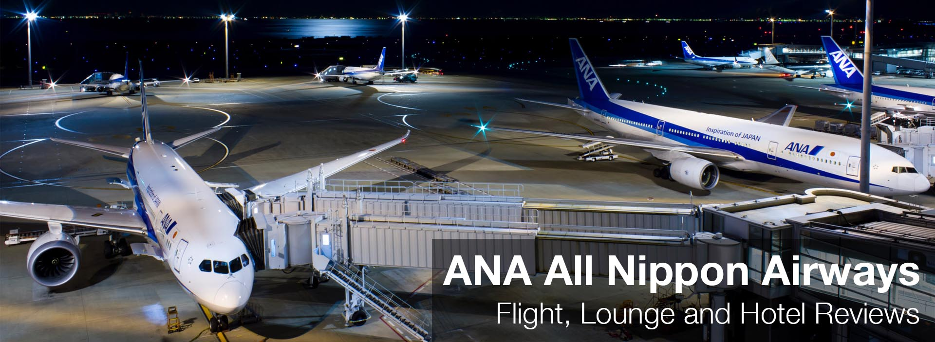 ANA All Nippon Airways: Flight, Lounge and Hotel Reviews (and Resources)