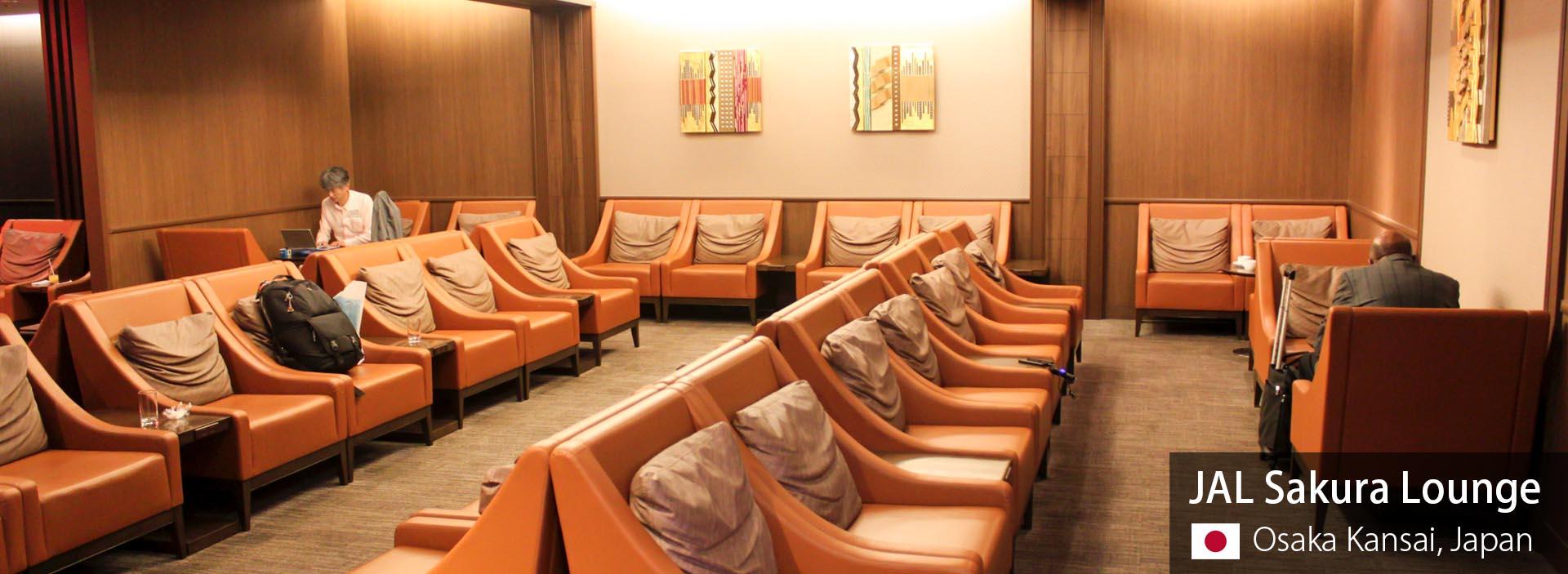 Review: JAL Sakura Lounge (International) at Osaka Kansai Airport