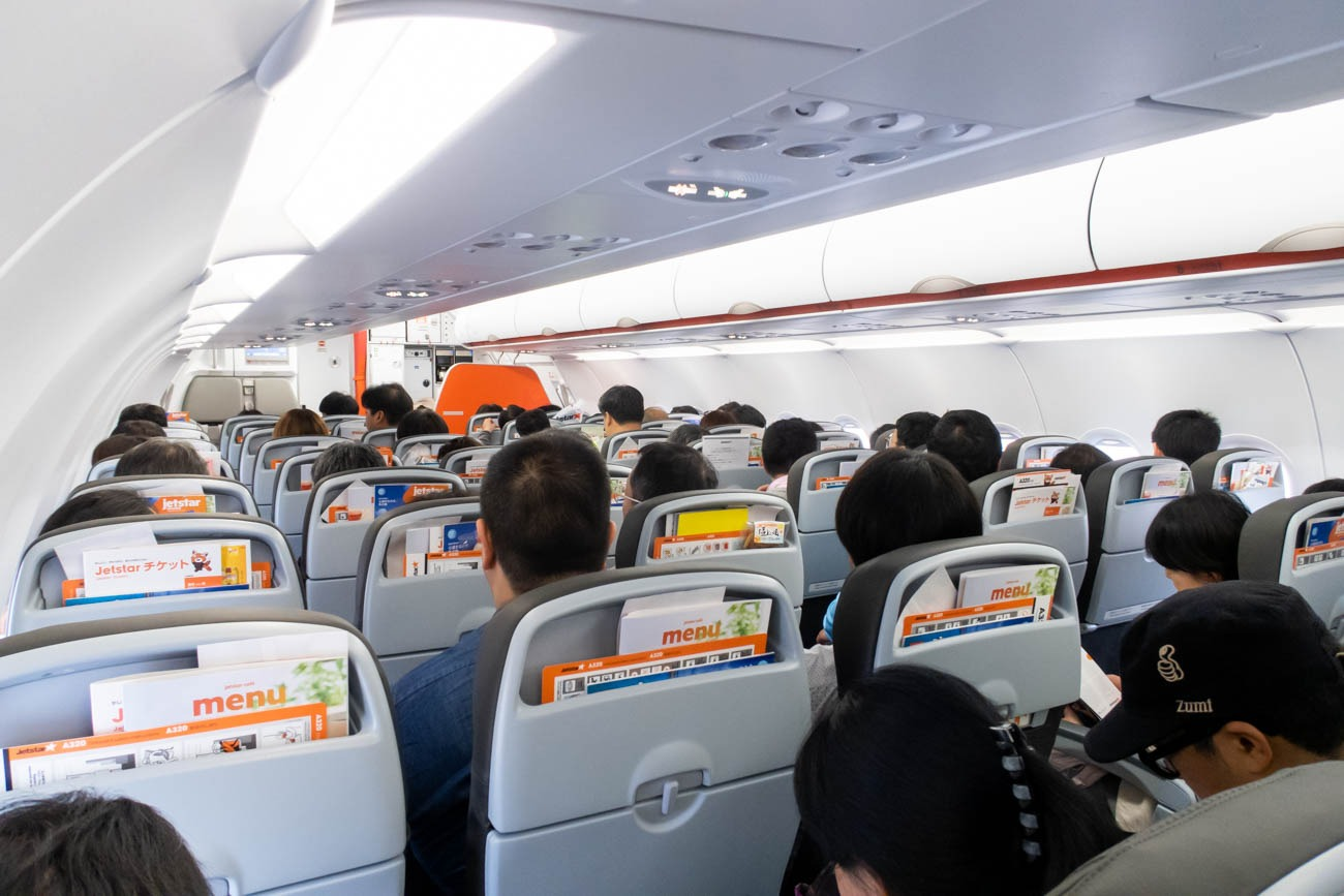 Jetstar Japan A320 Cabin