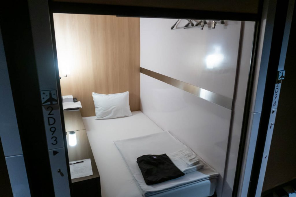 First Cabin Kansai Airport Business Class Cabin