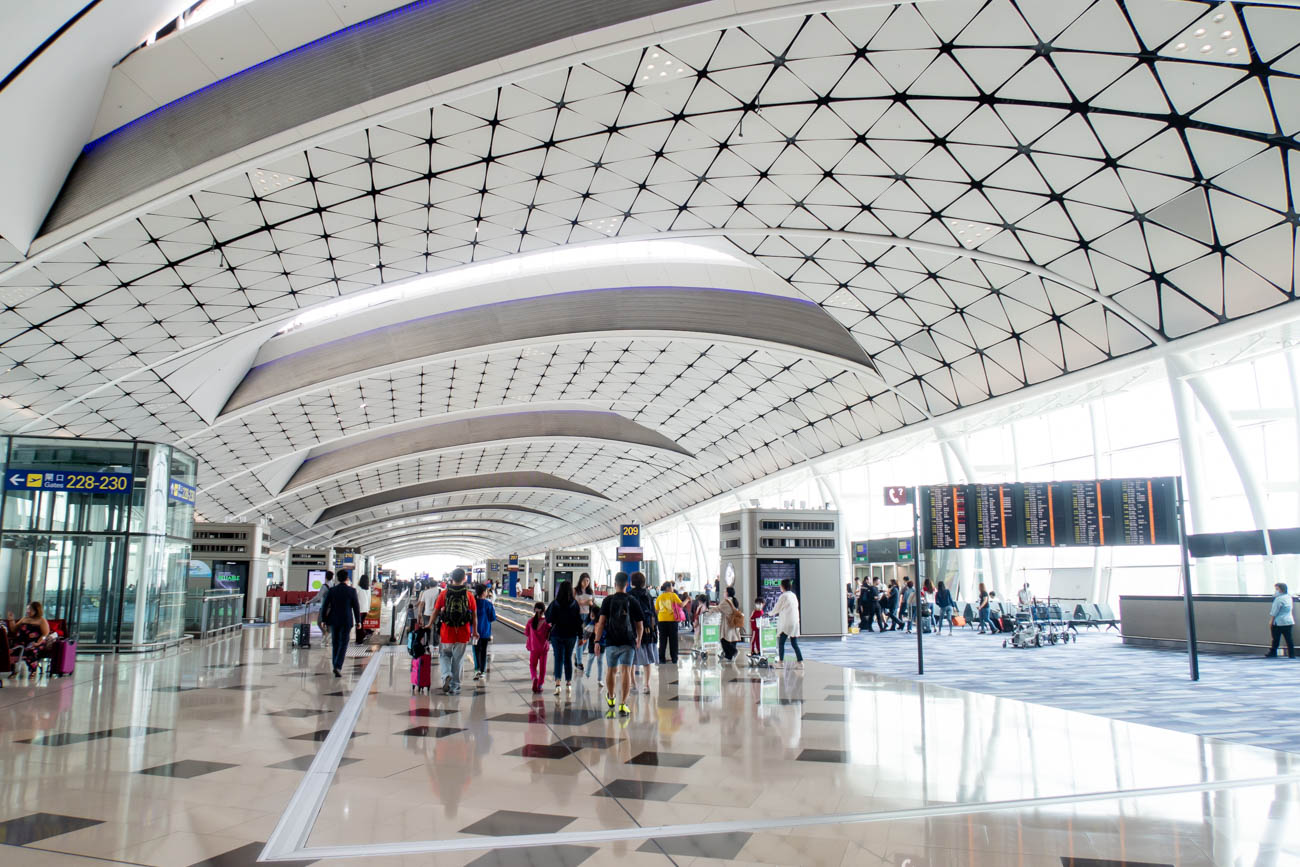 Hong Kong International Airport Terminal