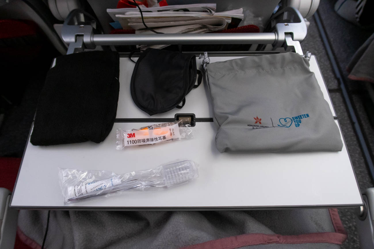 Hong Kong Airlines Economy Class Amenity Kit