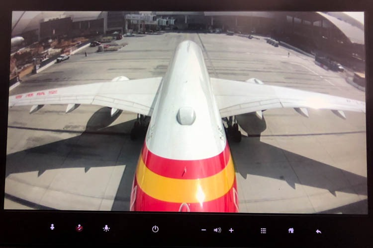 Hong Kong Airlines Airbus A350 Tail Camera