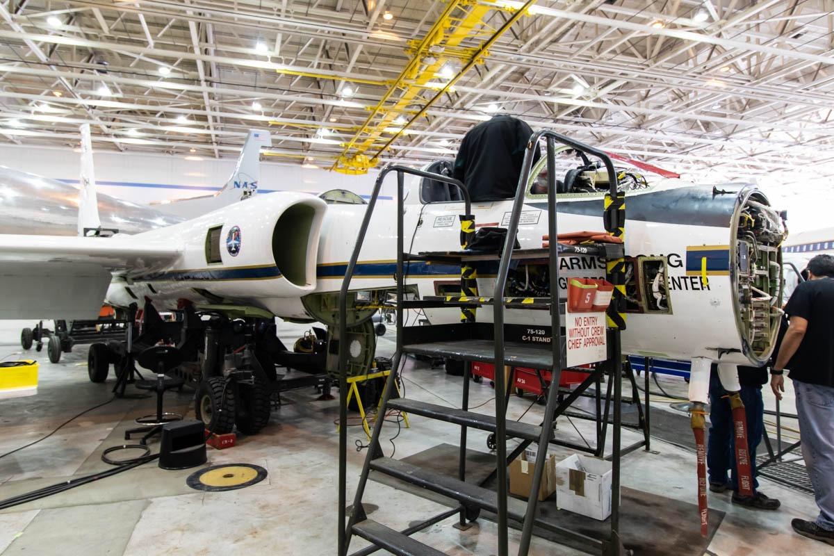 NASA Armstrong Flight Research Center Building 703 Lockheed ER-2