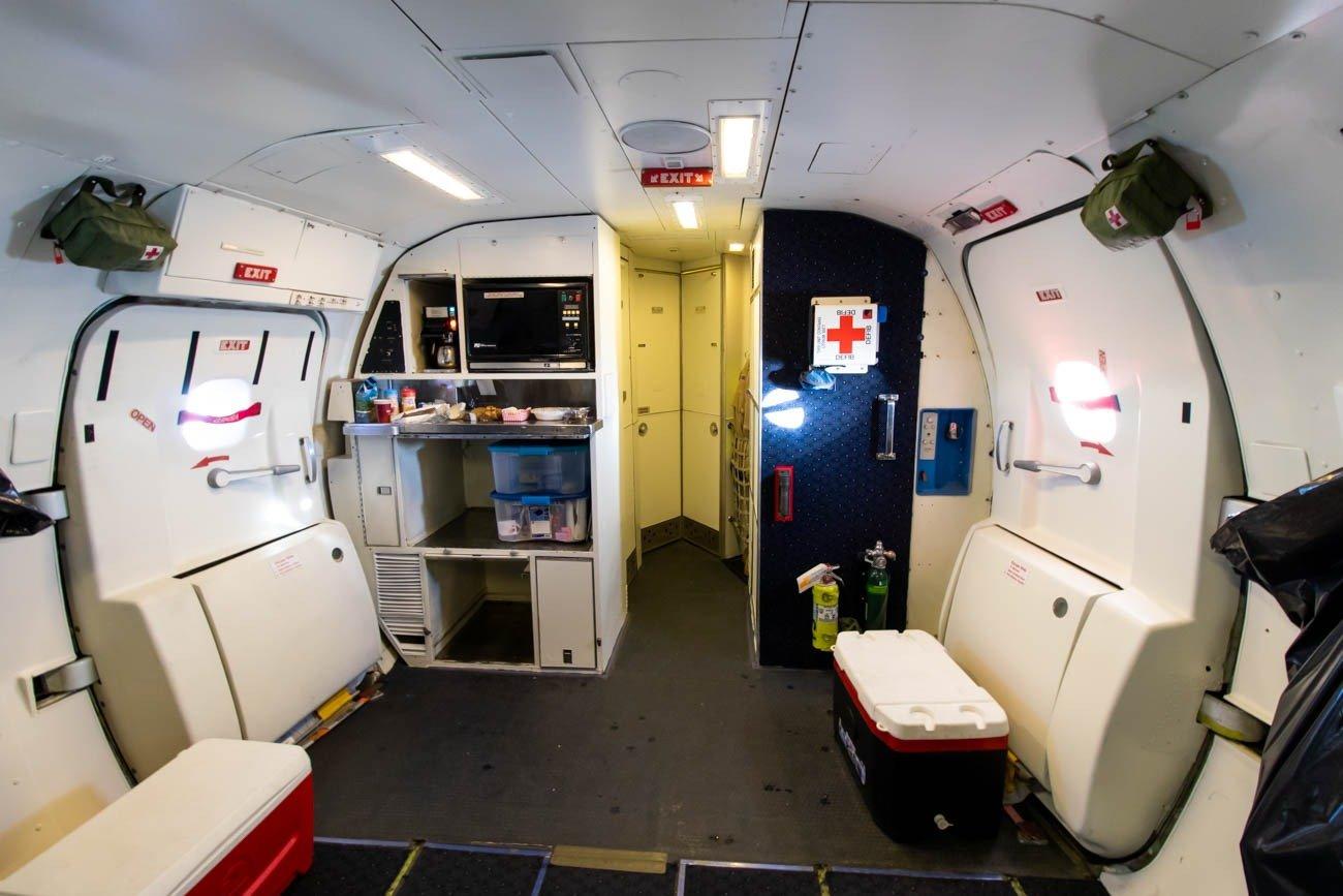 NASA DC-8 Cabin