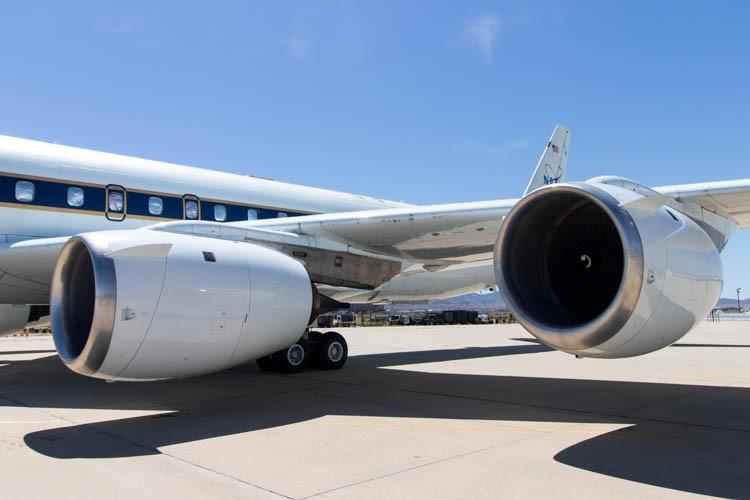 NASA DC-8 (N817NA) at Palmdale Airport