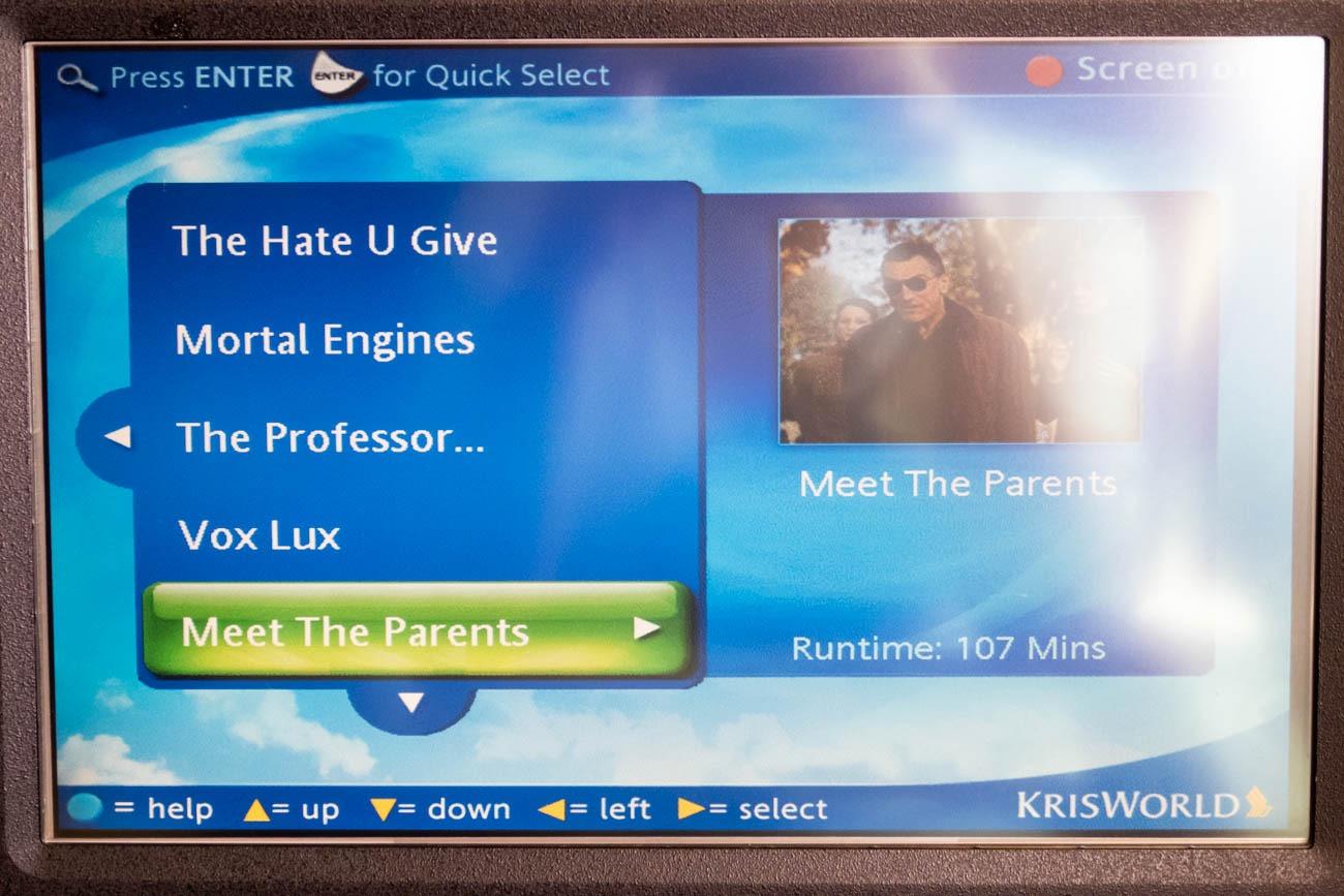 Singapore Airlines KrisWorld Movies