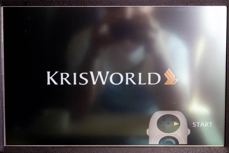 Singapore Airlines KrisWorld In-Flight Entertainment System