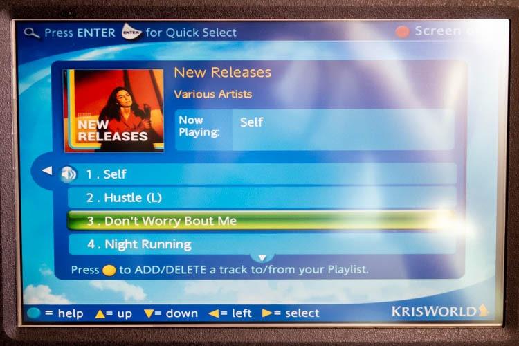 Singapore Airlines KrisWorld Music