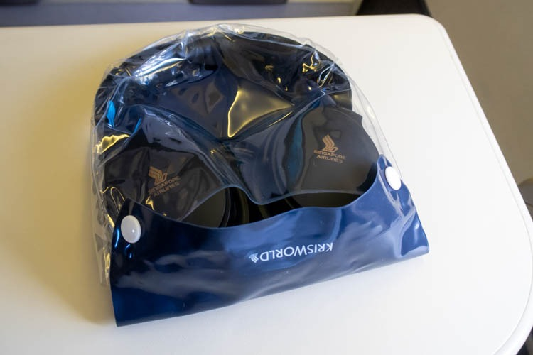 Singapore Airlines Noise-Cancelling Headset