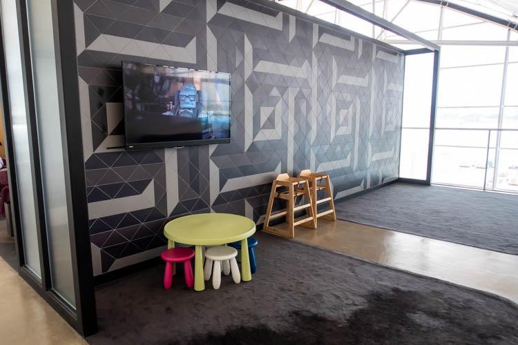 The Qantas Hong Kong Lounge Kids' Space