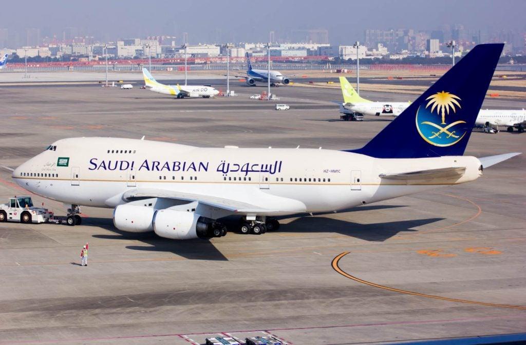 Saudi Arabian 747SP