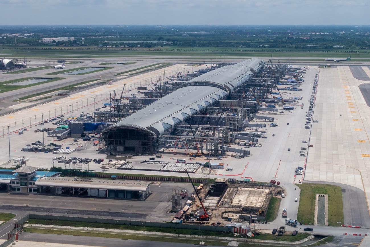 Bangkok Airport New Terminal