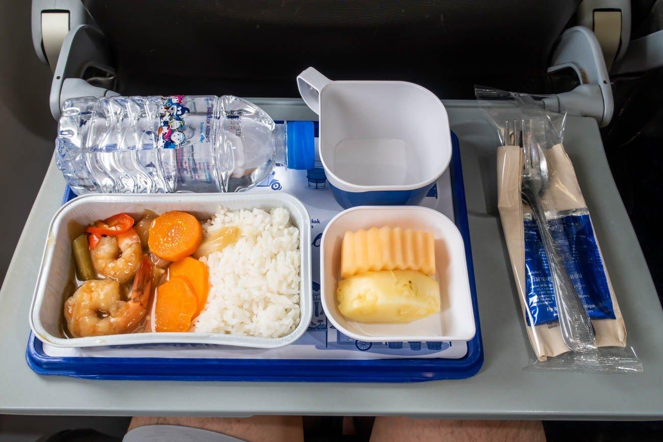 Bangkok Airways Economy Class Meal