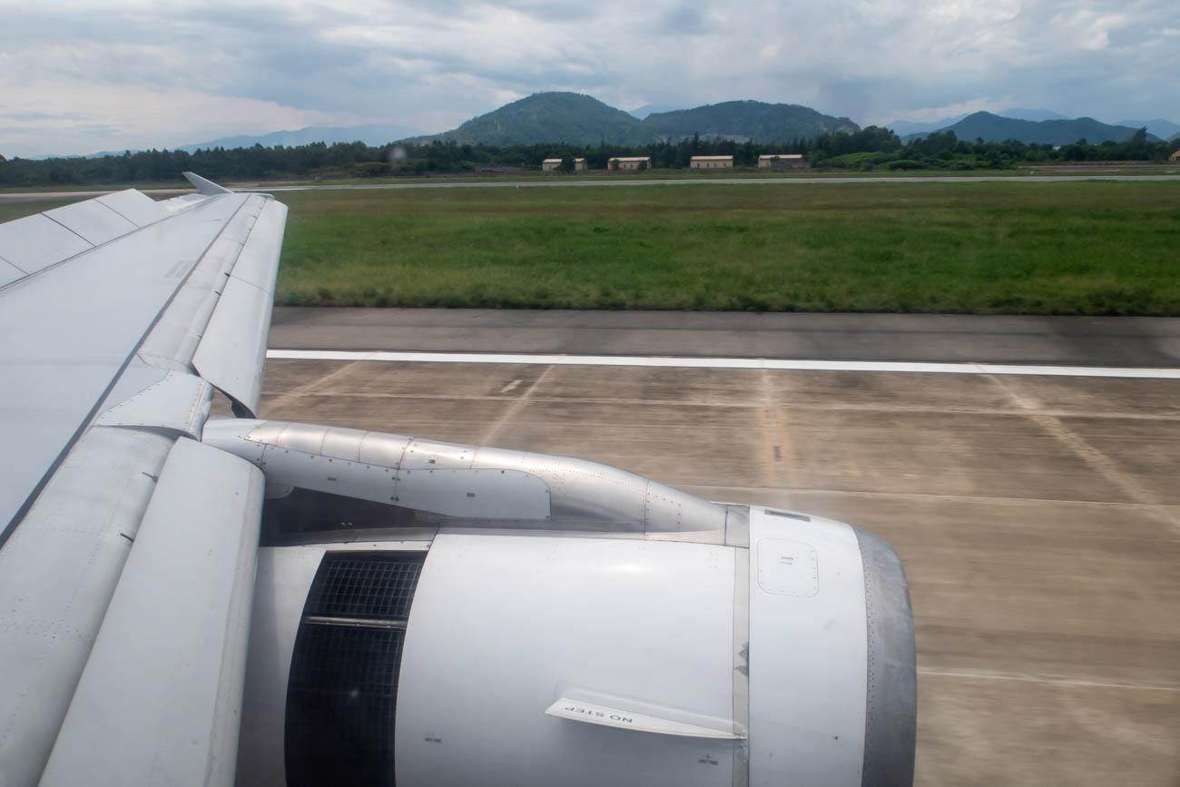 Bangkok Airways Landing