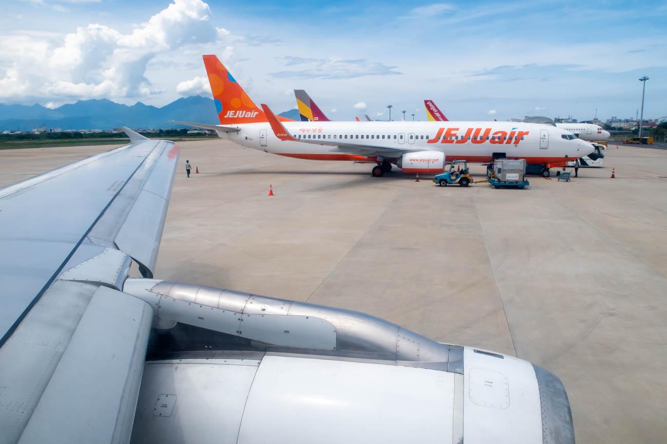 Bangkok Airways Arrival in Da Nang