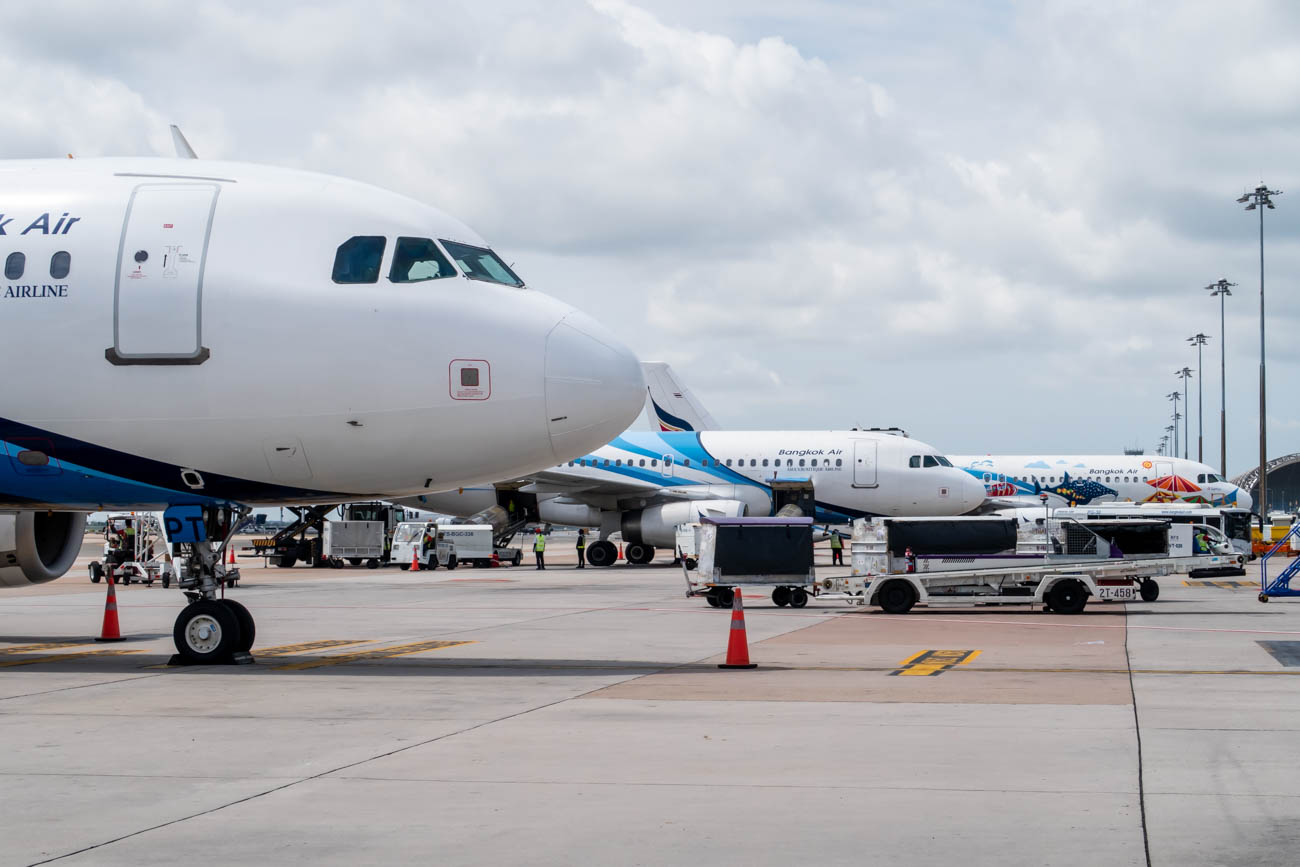 Bangkok Airways Fleet
