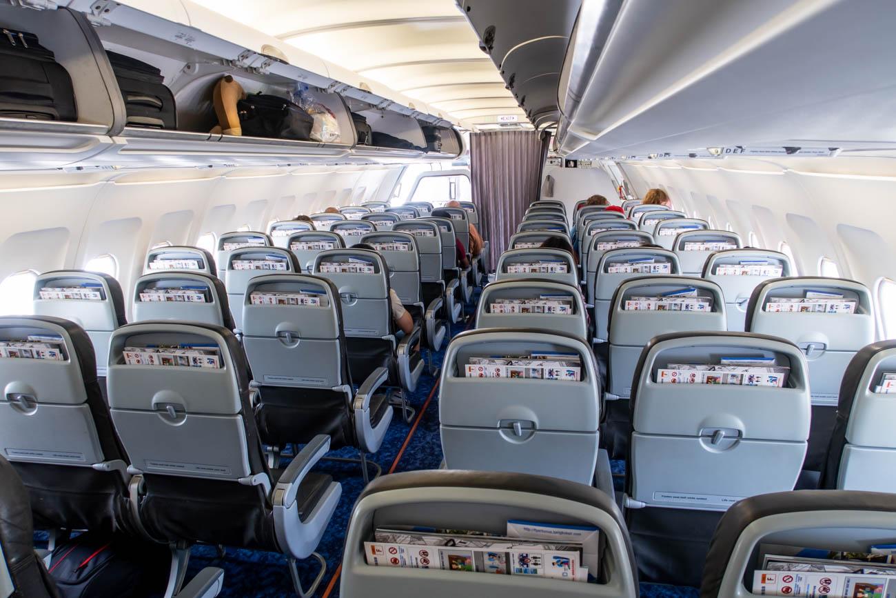 Bangkok Airways Airbus A320 Cabin