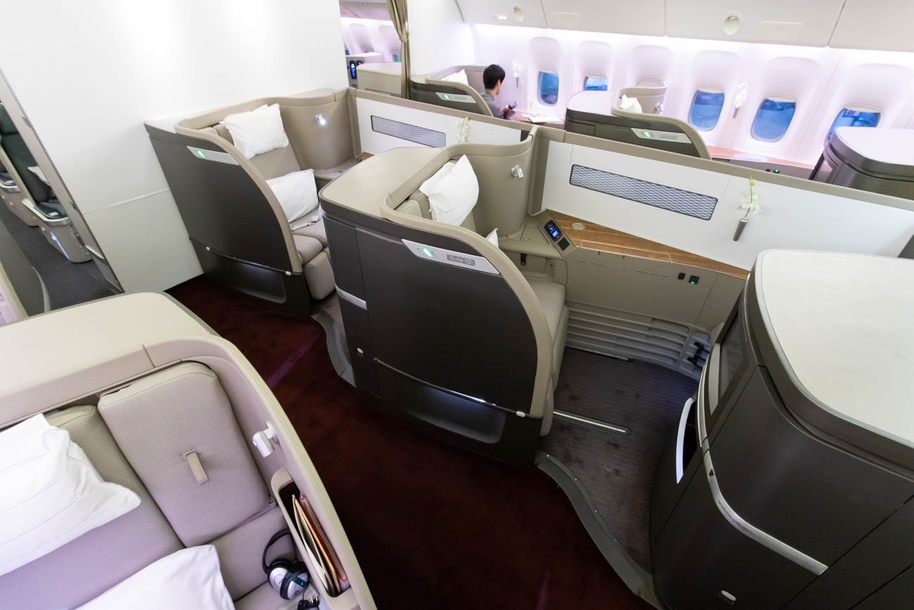 Cathay Pacific 777-300ER First Class from Vancouver to New York