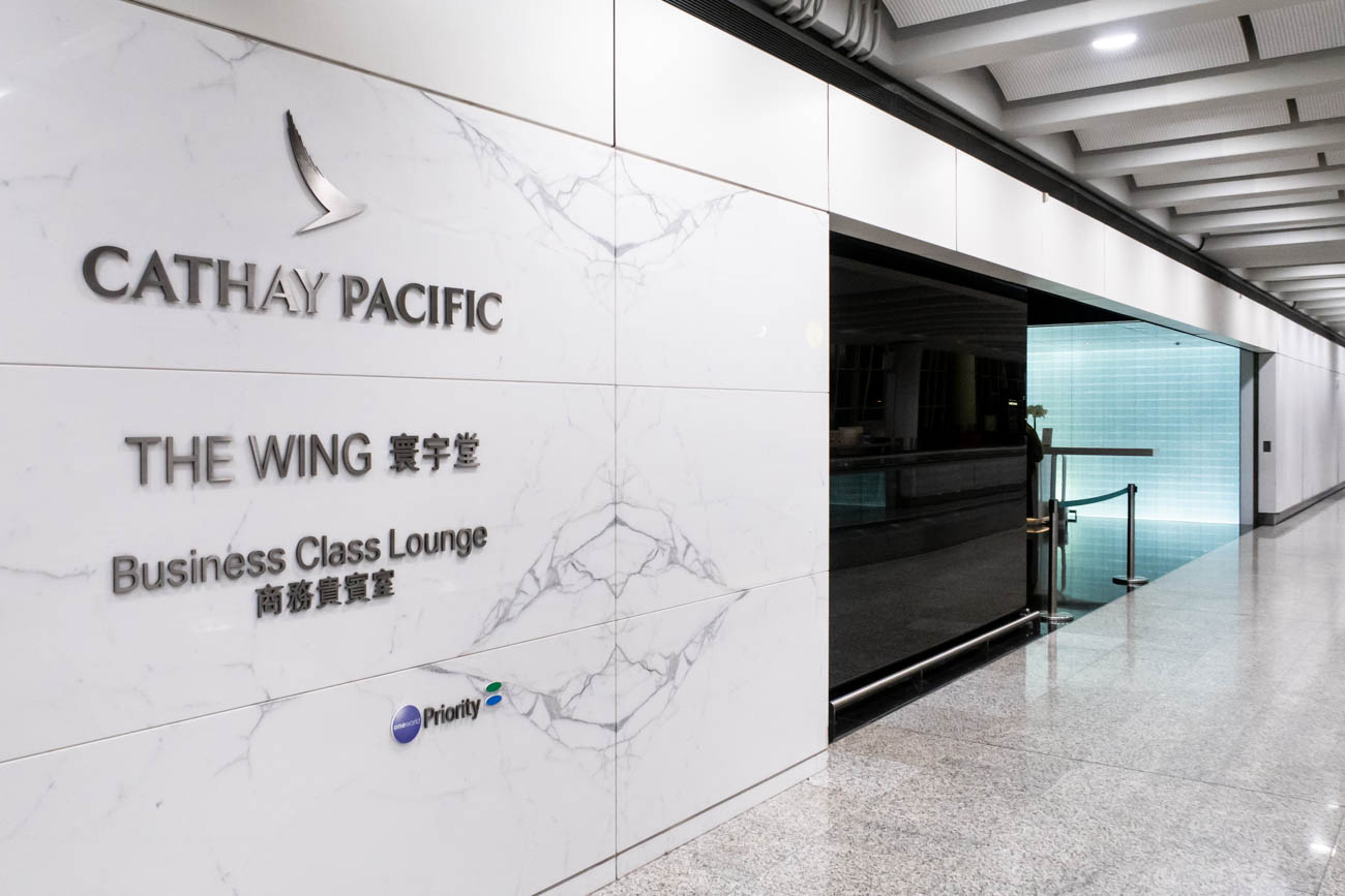 """Review: Cathay Pacific """"The Wing, First"""" Lounge at Hong Kong Airport"""