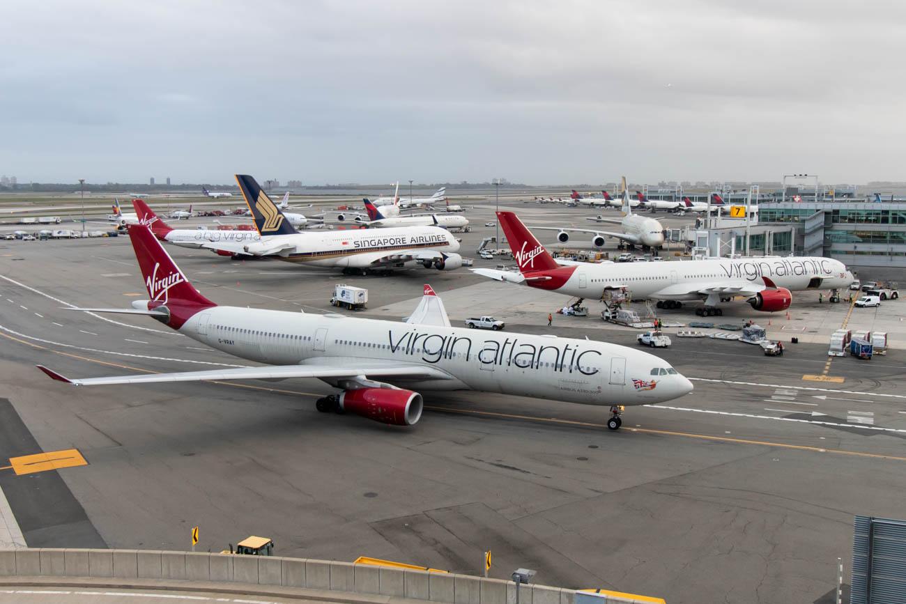 View of JFK Terminal 4 from TWA Hotel