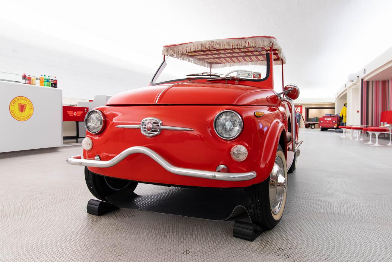 Historic Fiat at TWA Hotel