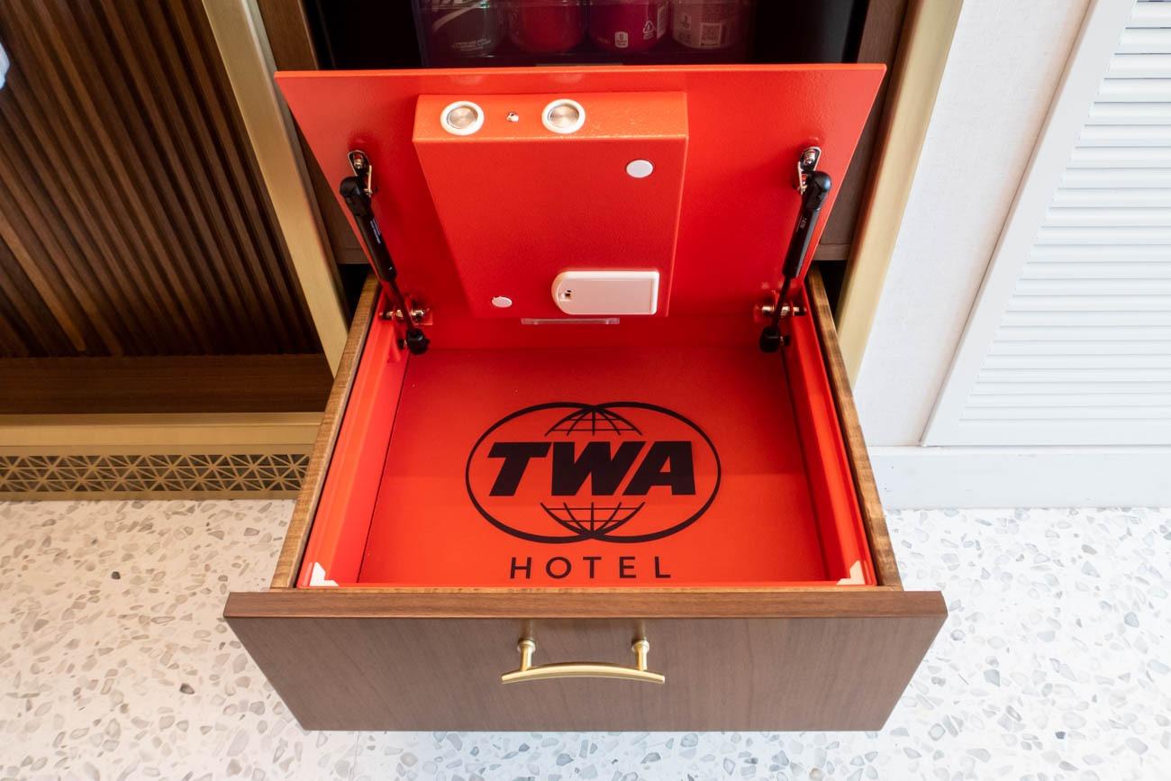 TWA Hotel Safe