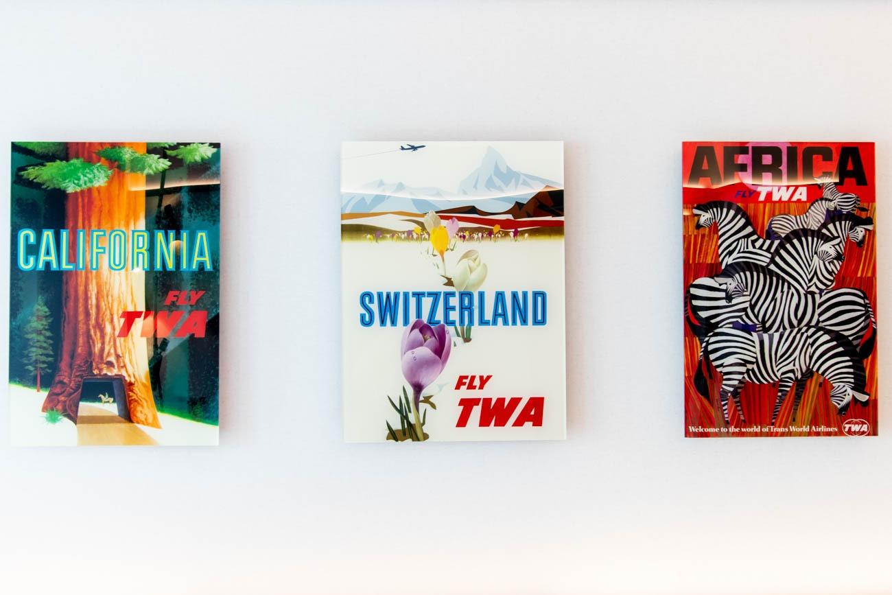 TWA Hotel Room Posters