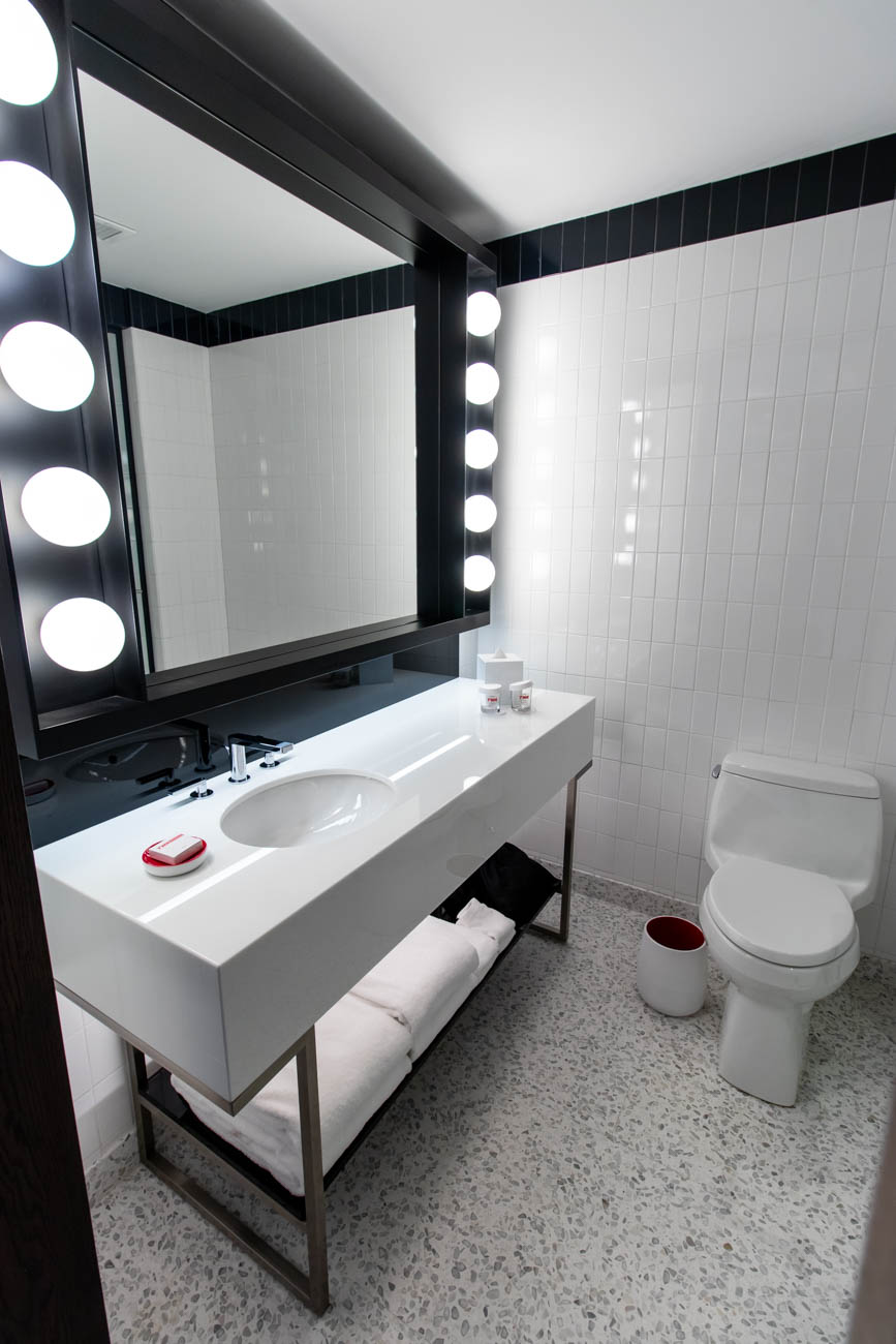 TWA Hotel Bathroom
