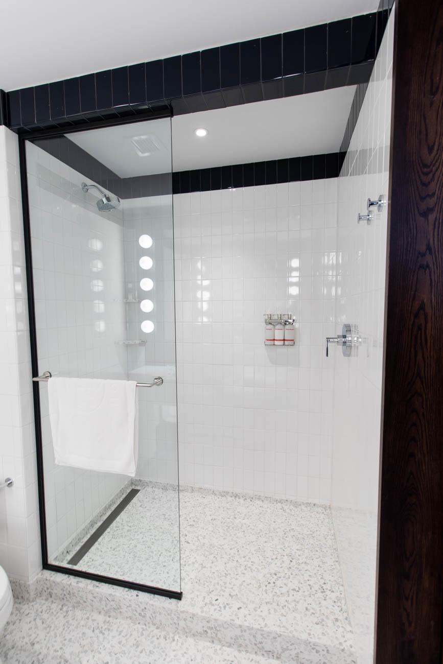 TWA Hotel Shower