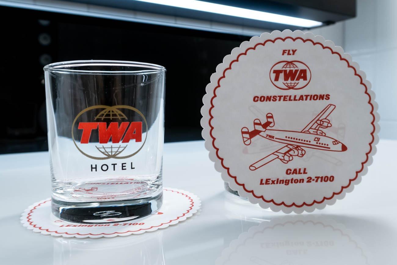 TWA Hotel Glasses