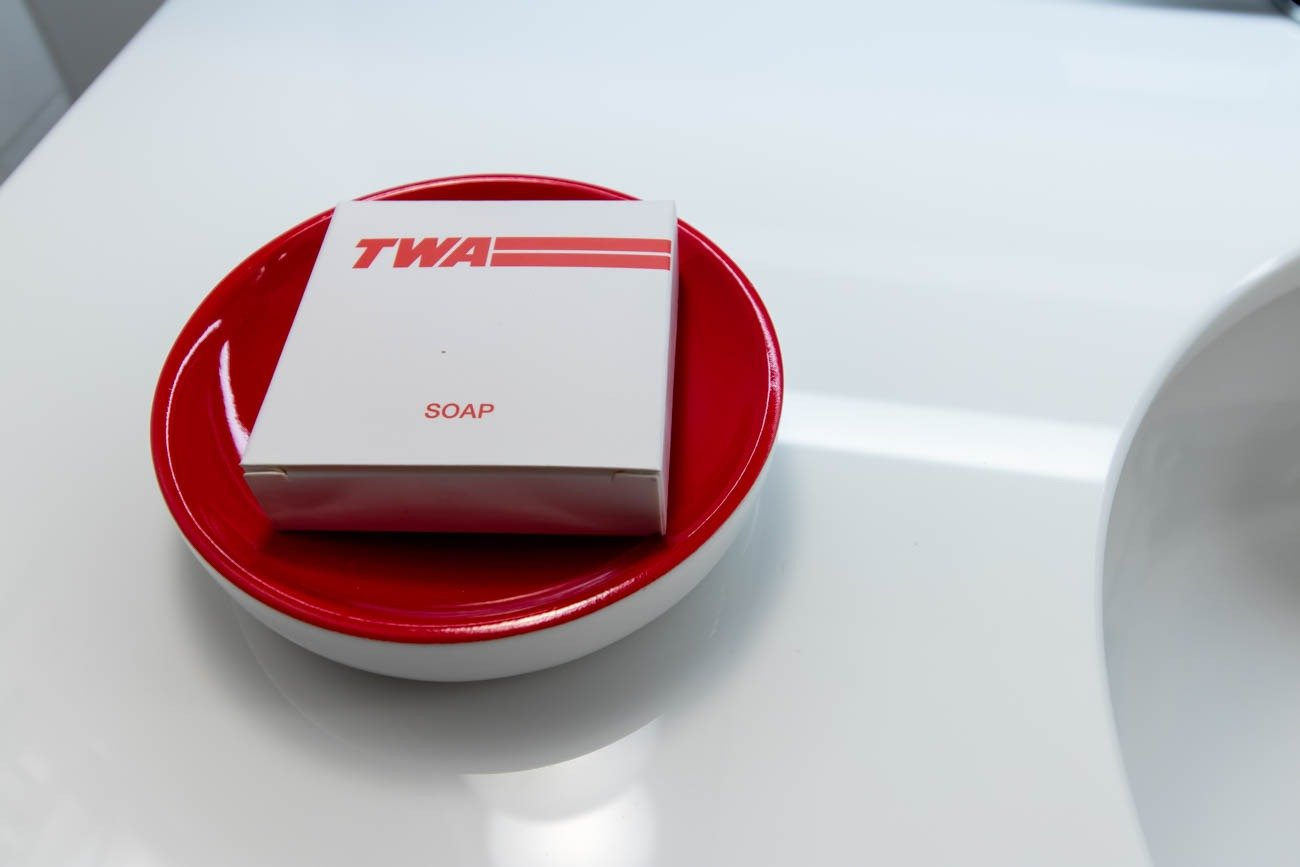 TWA Hotel Soap
