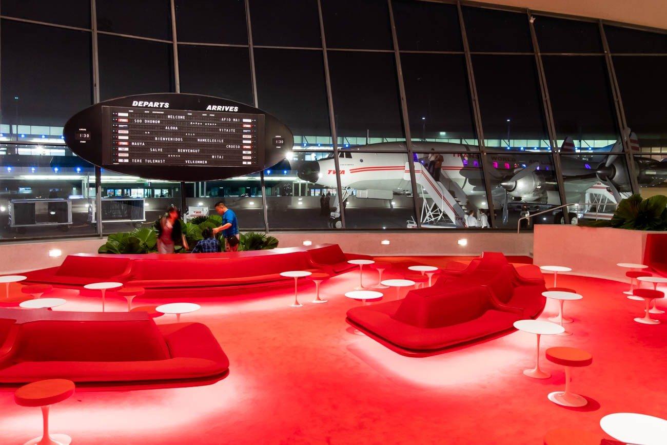 TWA Hotel The Sunken Lounge