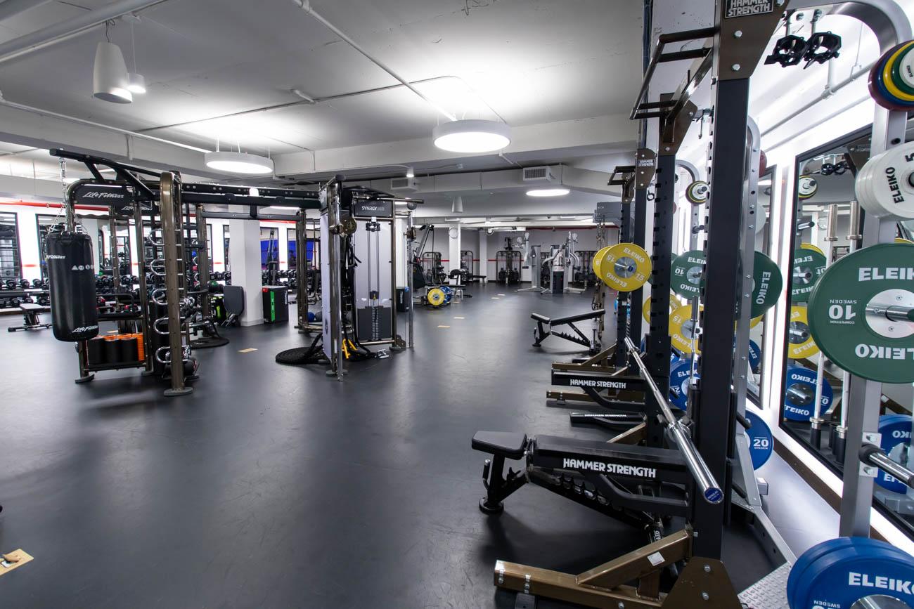 TWA Hotel Gym Weight-Training