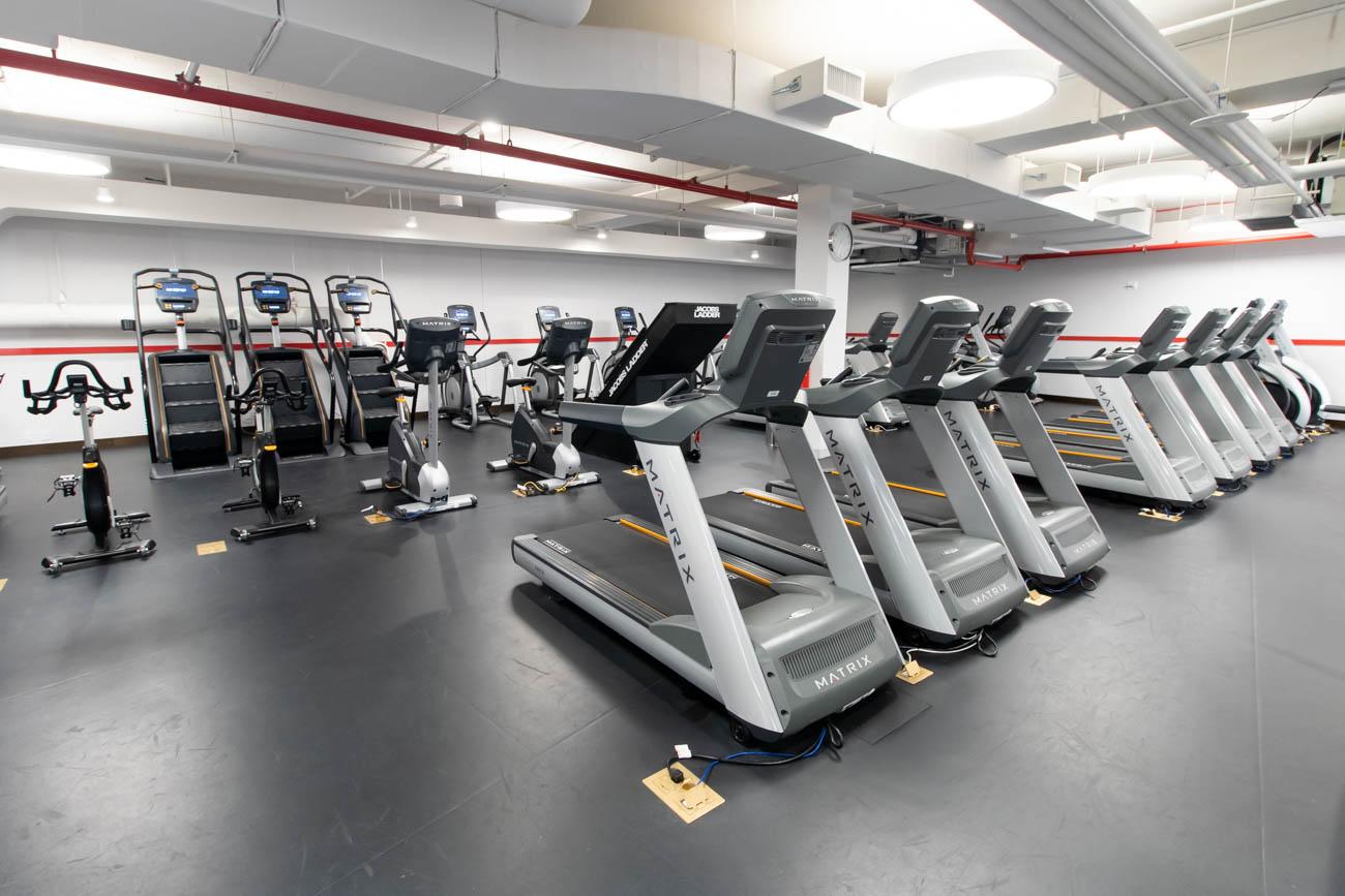 TWA Hotel Gym