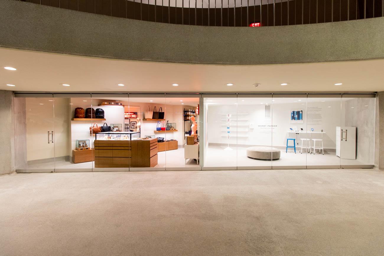 Warby Parker and Shinola at TWA Hotel