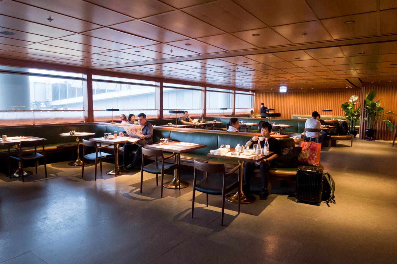 Cathay Pacific The Pier First Lounge A La Carte Restaurant