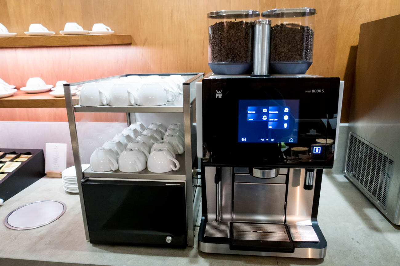 Cathay Pacific The Pier First Lounge Coffee