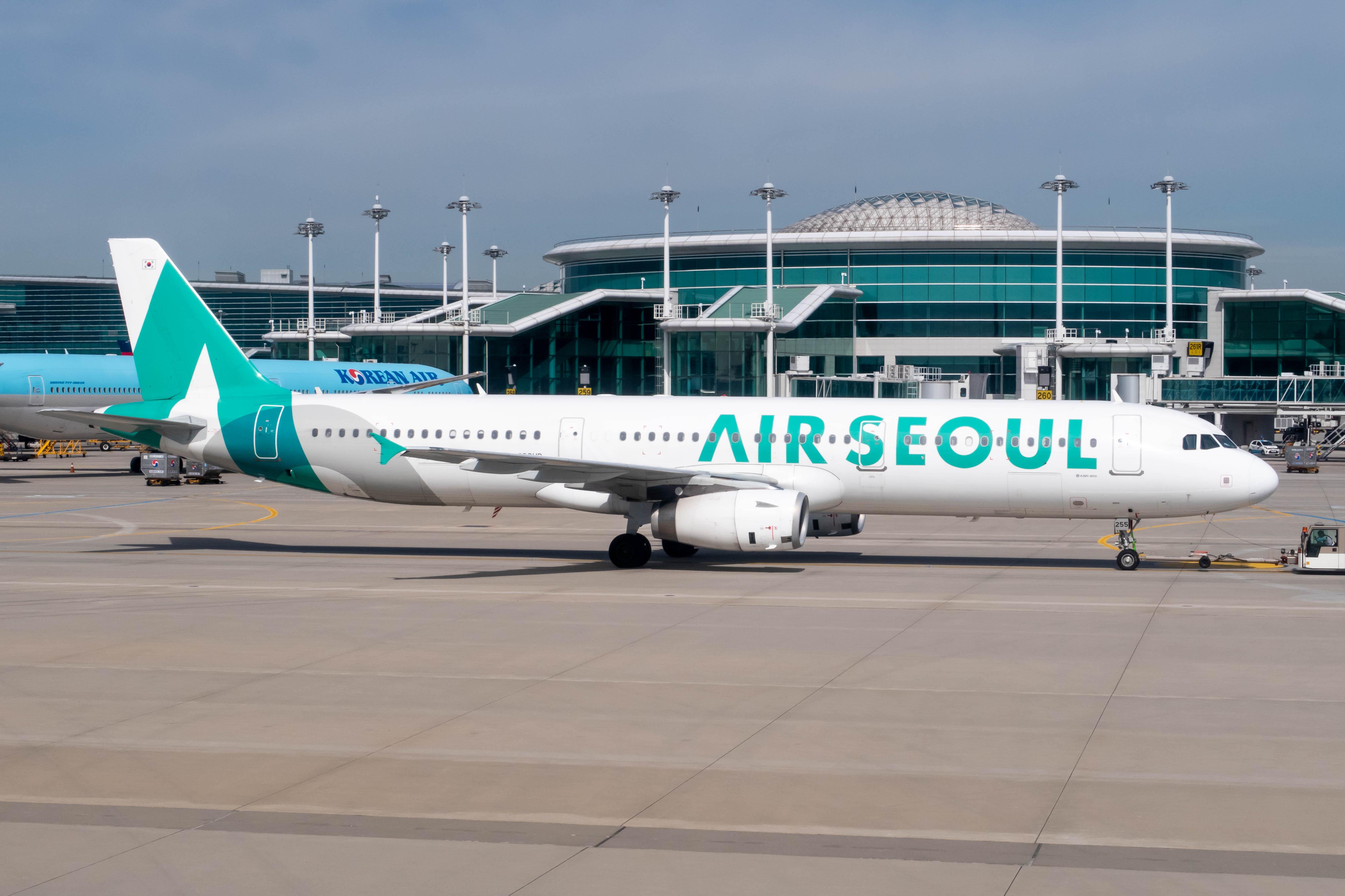 Air Seoul A321 at Incheon