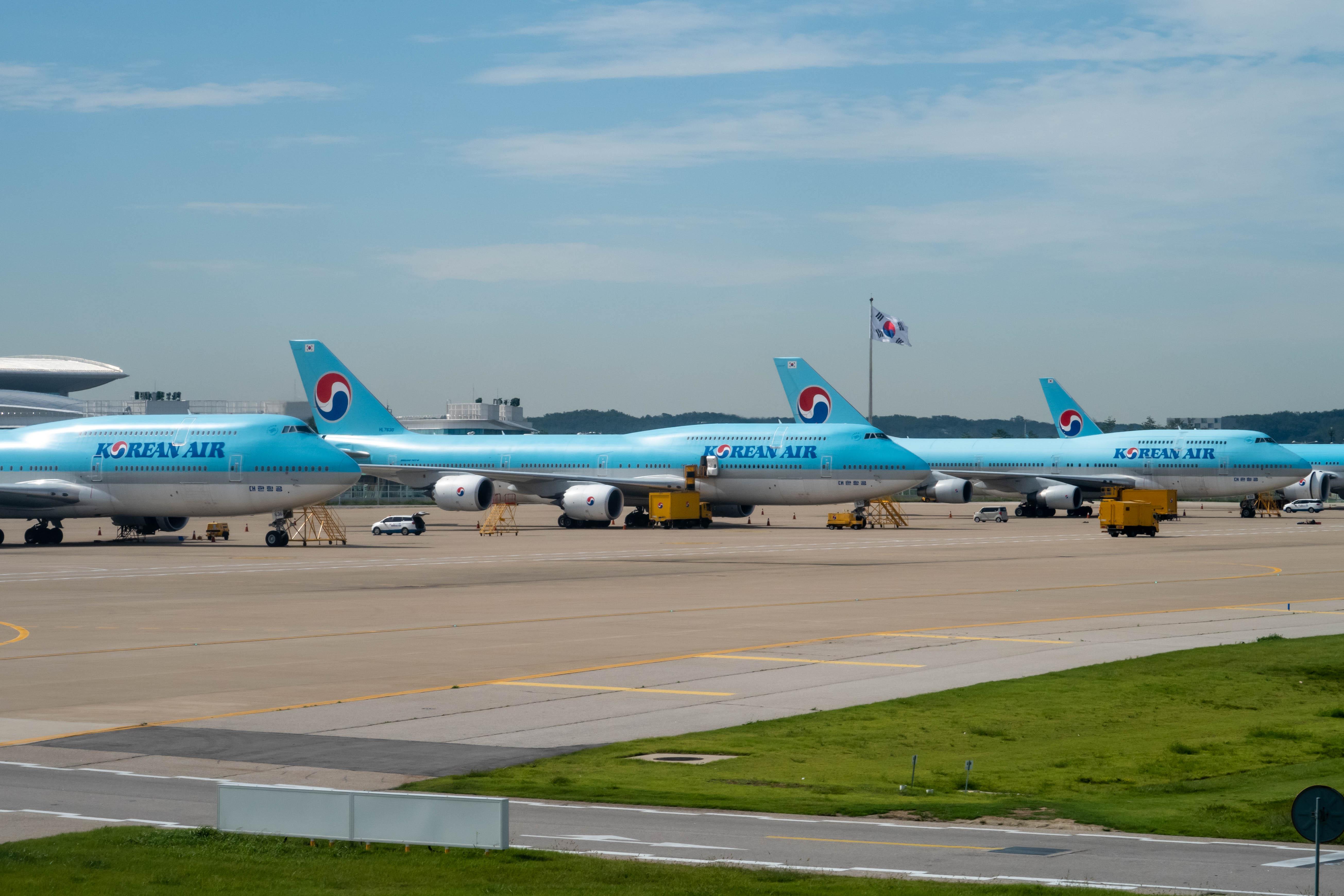 Korean Air 747s at Incheon
