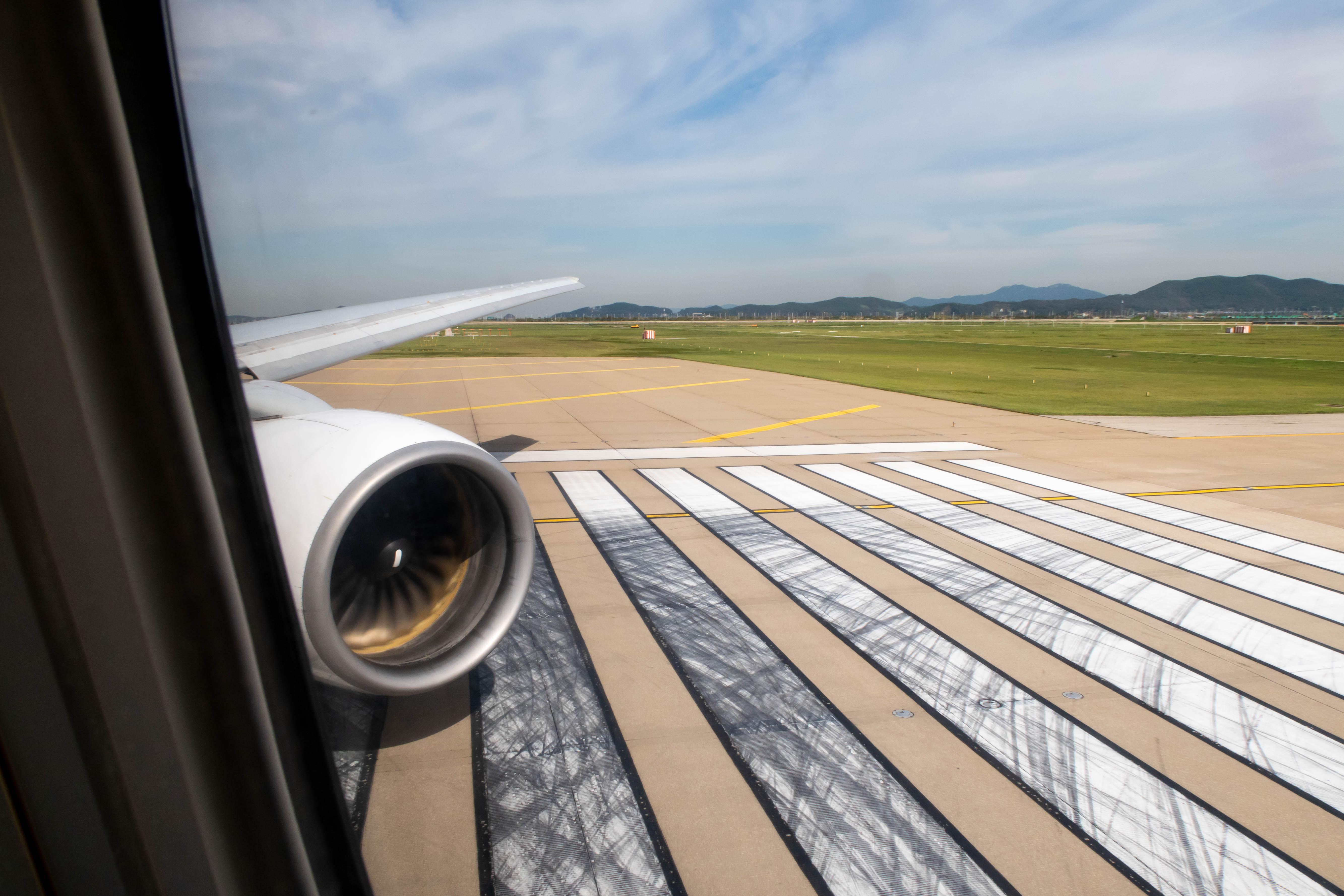 Departing Seoul Incheon Airport