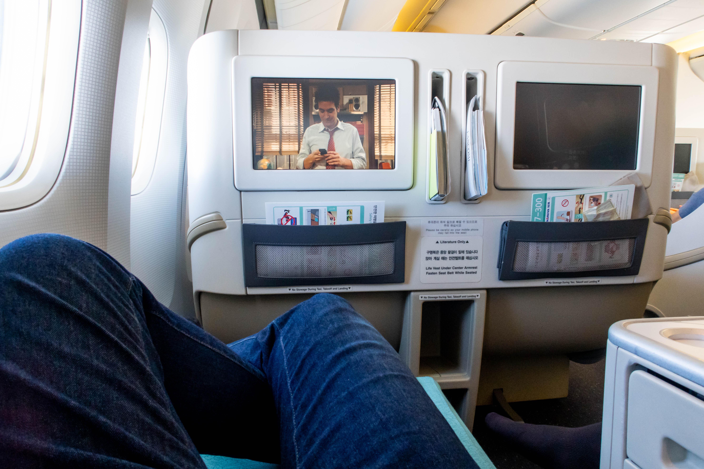 Korean Air 777-300 In-Flight Entertainment System